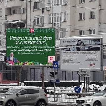 Panou publicitar Craiova