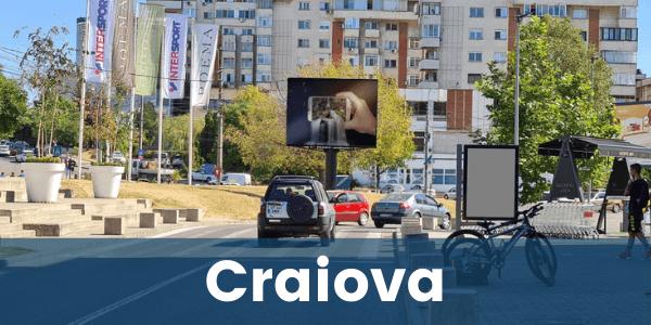 Panou publicitate LED Craiova